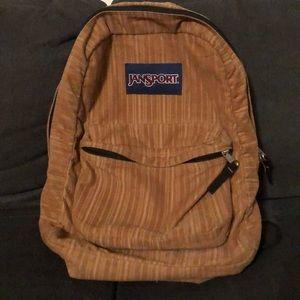 Corduroy Regular size Jansport backpack